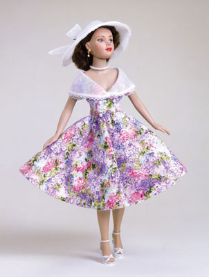 """Garden Party"" is one of Robert Tonner's favorite ensembles for Tiny Kitty. Inspired by a dress worn by Tonner's mother in the 1950s, ""Garden Party"" re­tails for  $35."