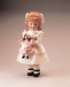 """The molded felt """"Emily and The Enchanted Doll"""" was released in 1984 in an edition of 150."""