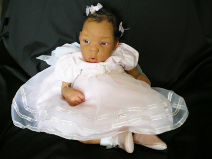 Although Miller-Sands is focusing on making toddlers right now, she still does make babies like
