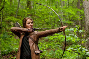Katniss with Bow