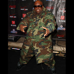 Camouflaged Cee-Lo