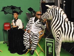 Cee-Lo Green & Zebra