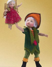 PANdemonium: There is a riot of Peter Pan dolls that invite us to fly and believe.