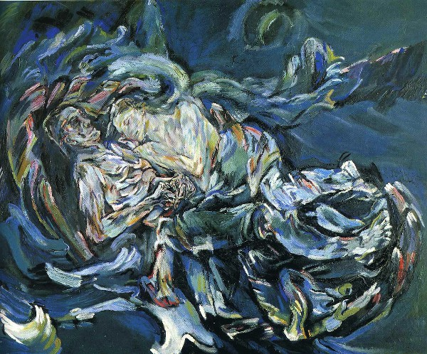 Bride of the Wind, 1914, Oskar Kokoschka, Kunstmuseum, Basle