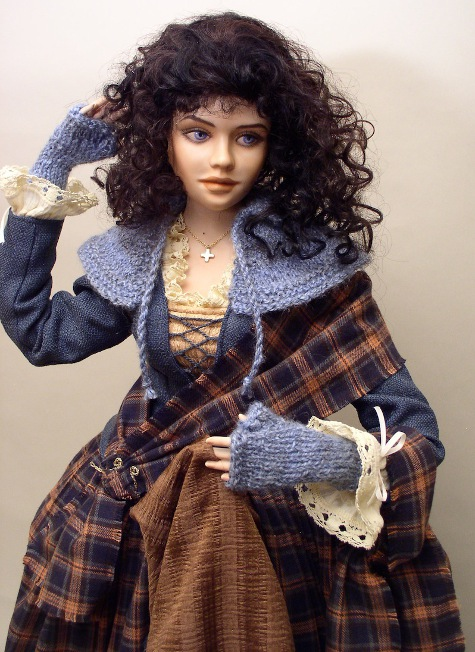 Outlander Odyssey: Monica Reo's Claire Randall doll is out of this world