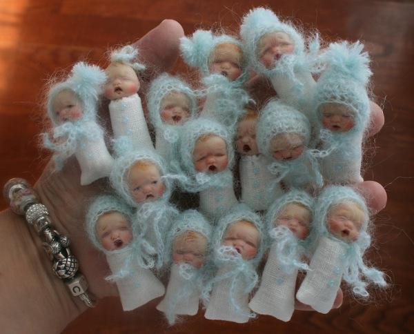 OOAKLittle Babies polymer