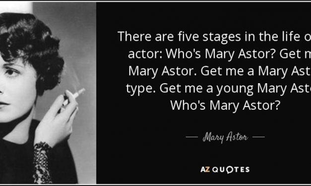 "Mary, Mary, Quite Contrary: Tonner Doll Co. shines a spotlight on Mary Astor's ""bad"" behavior"