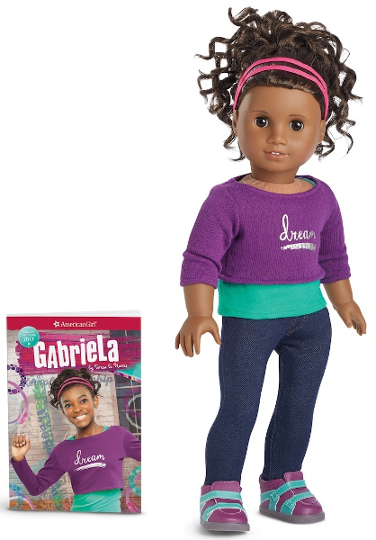 The Gabriela doll and book help to make the American Girl line truer to contemporary America.