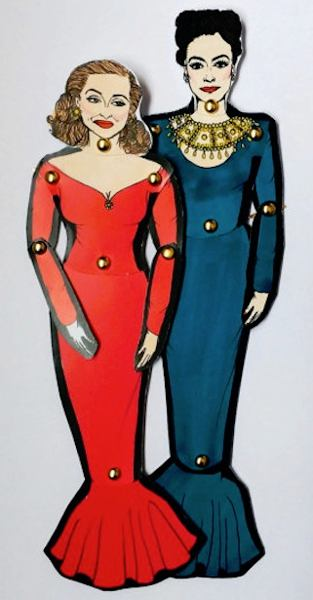 Joan Crawford Paper Dolls