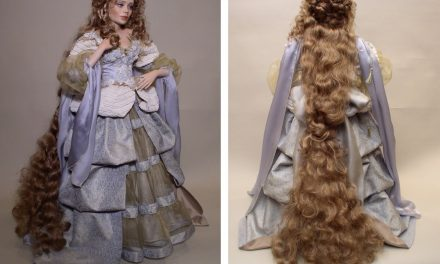 Over the Rainbow: Monica Reo's newest porcelain dolls reside in imagination