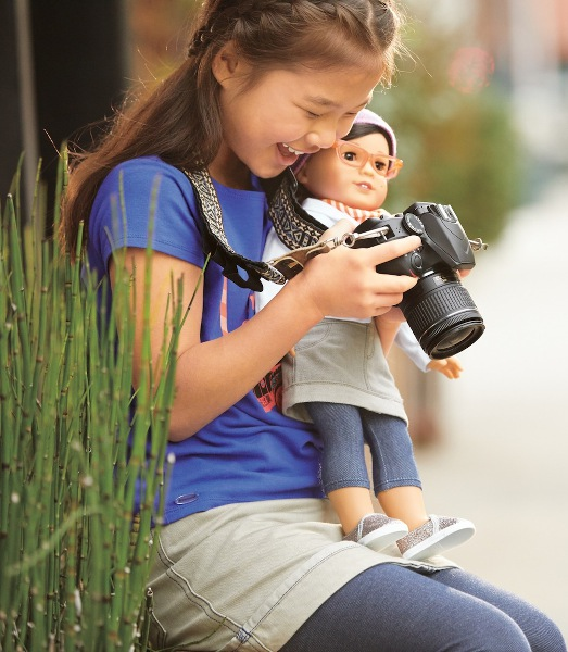 The Z doll provides self-affirmation and builds confidence.