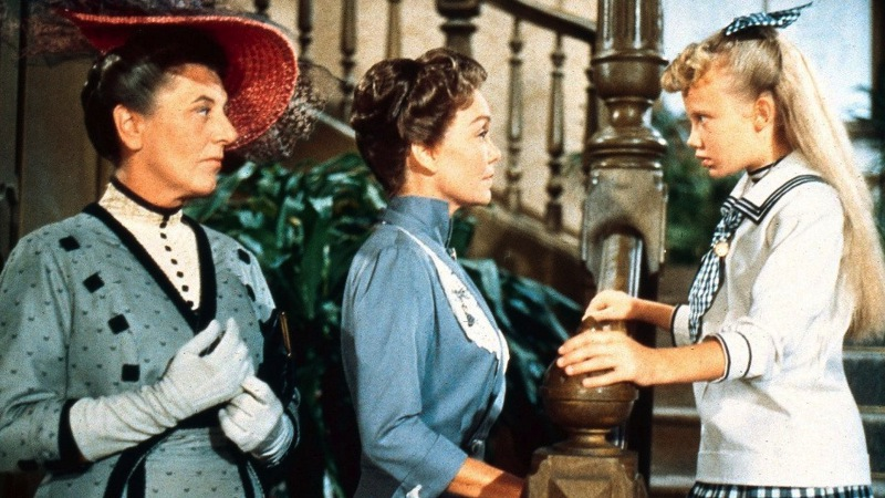 The movie really is a square-off between two single-minded females: Aunt Polly and Pollyanna.