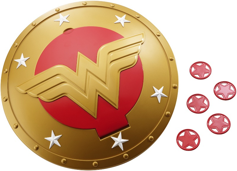 DC Superhero Wonder Woman's shield, made and designed for girls.