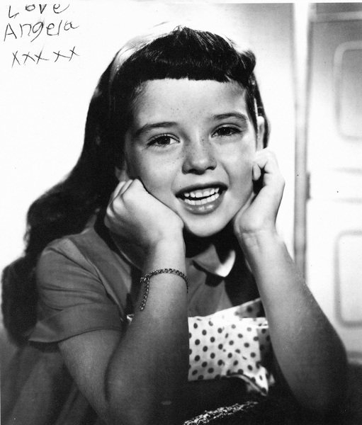 One of Angela Cartwright's earliest headshots.