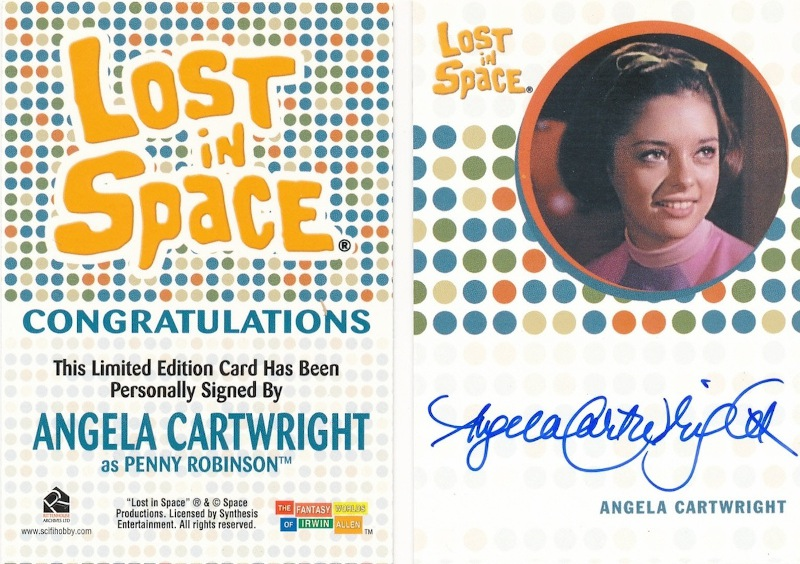 "Cartwright has kept many of her collectible items, including the ""Lost in Space"" trading cards."