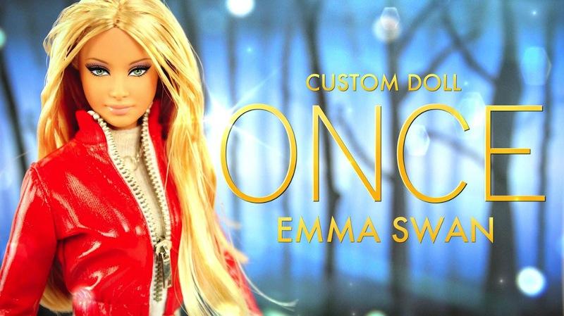 My Froggy Stuff Emma Swan custom doll.