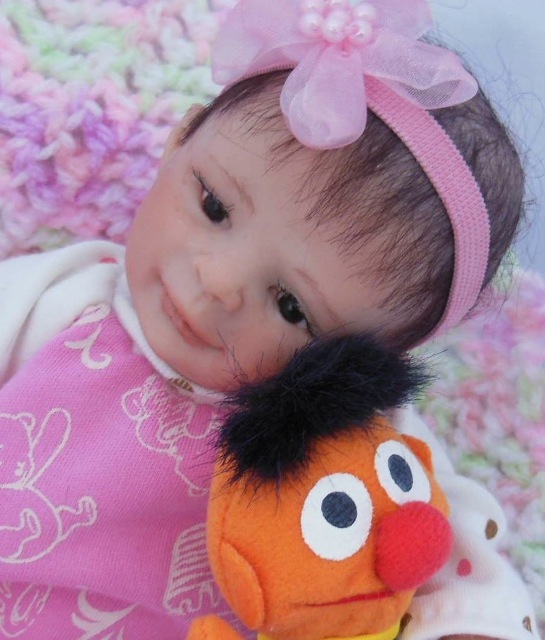 8-inch baby with Ernie doll