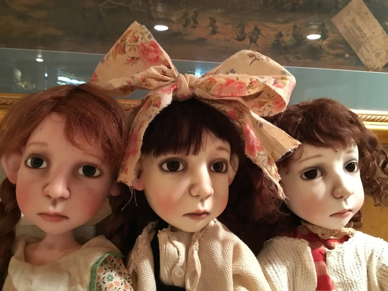 Lowe's BJDs inspired by Depression-era photos of children.