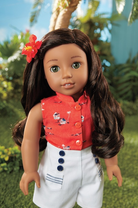 Nanea is American Girl's newest BeForever character.