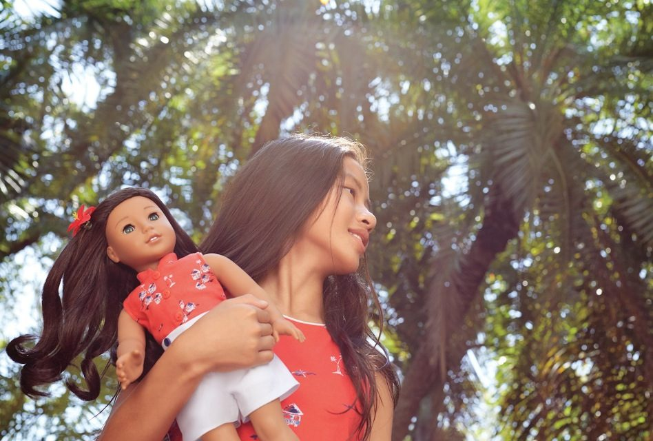 Aloha, Miss American Doll! Meet Nanea, this year's BeForever creation
