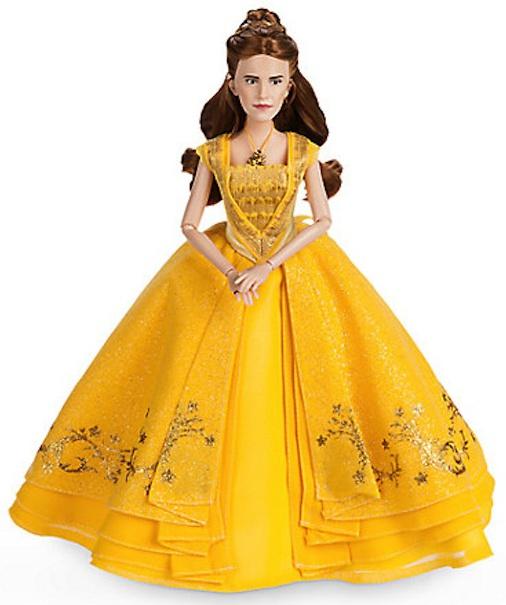 Emma Watson's Portrait Bell Doll from Mattel.