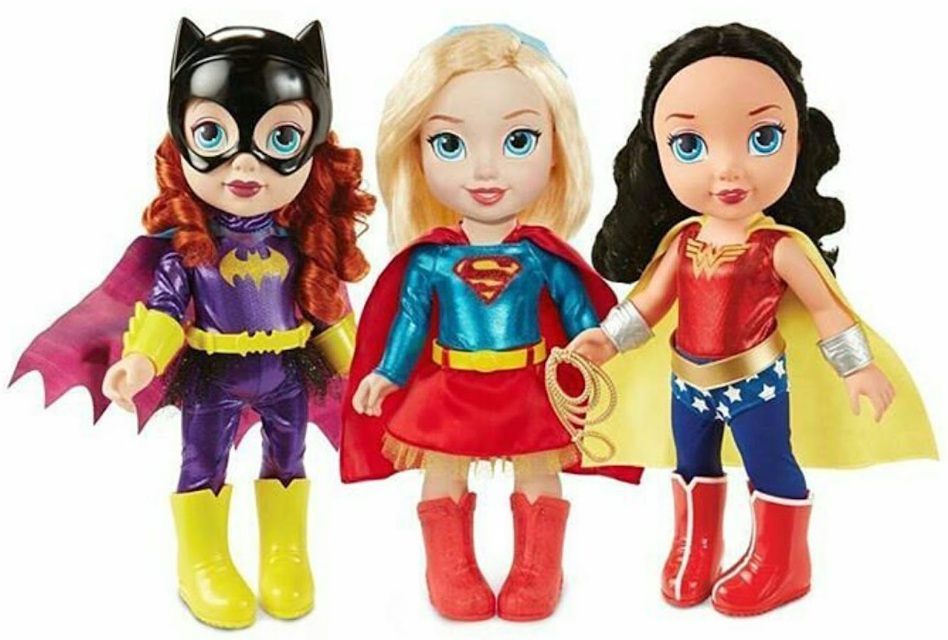 DC Superheroes as toddlers, courtesy of Jakks Pacific.