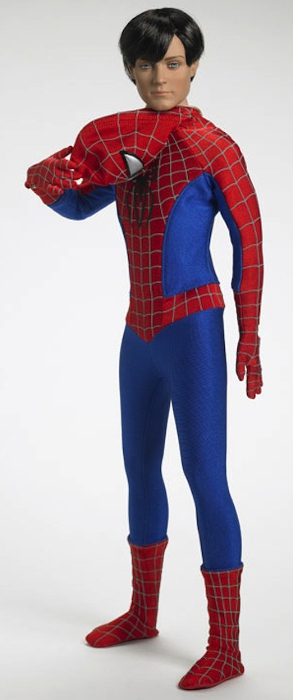 Tonner created this Peter Parker/Spider-Man prototype.