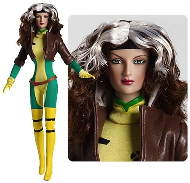 Rogue from Tonner's line of X-Men dolls. Photo courtesy of Entertainment Earth