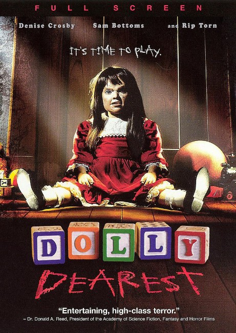 """""""Dolly Dearest"""" demands to be played with."""