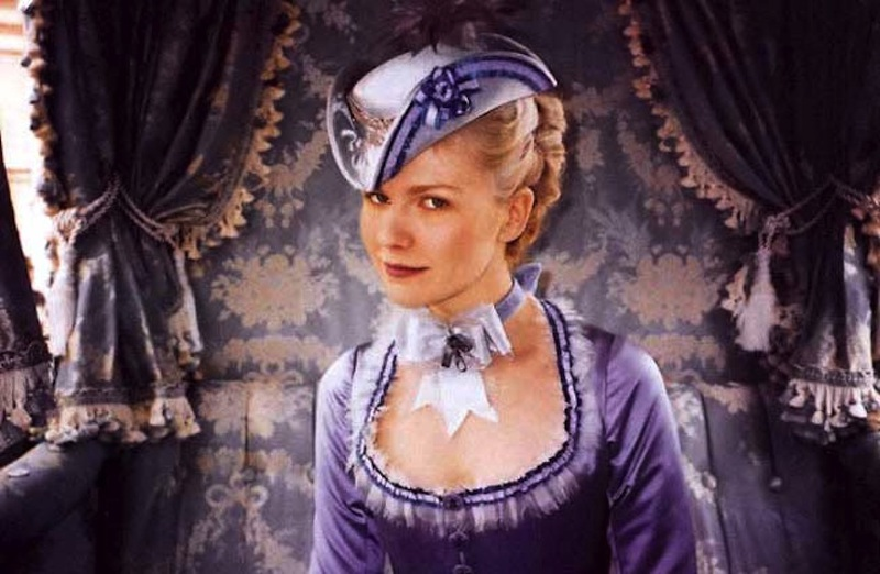 Kirsten Dunst as Marie Antoinette, courtesy of Movie Star News