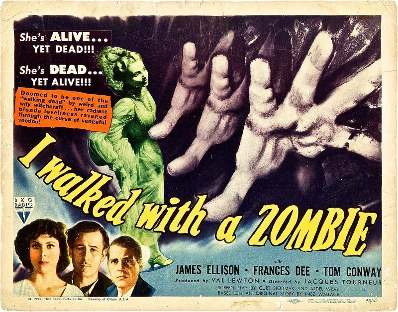 "Advertising campaign for ""I Walked with a Zombie"""