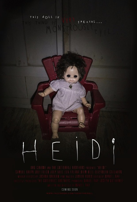 """""""Heidi"""" purports to be a found-footage film."""