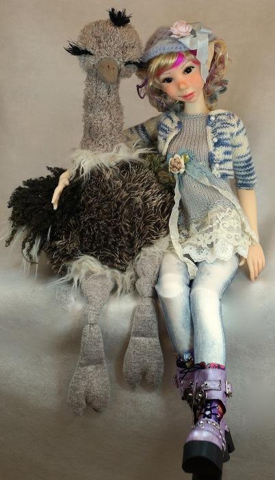 Sassafrass Sugar version with ostrich
