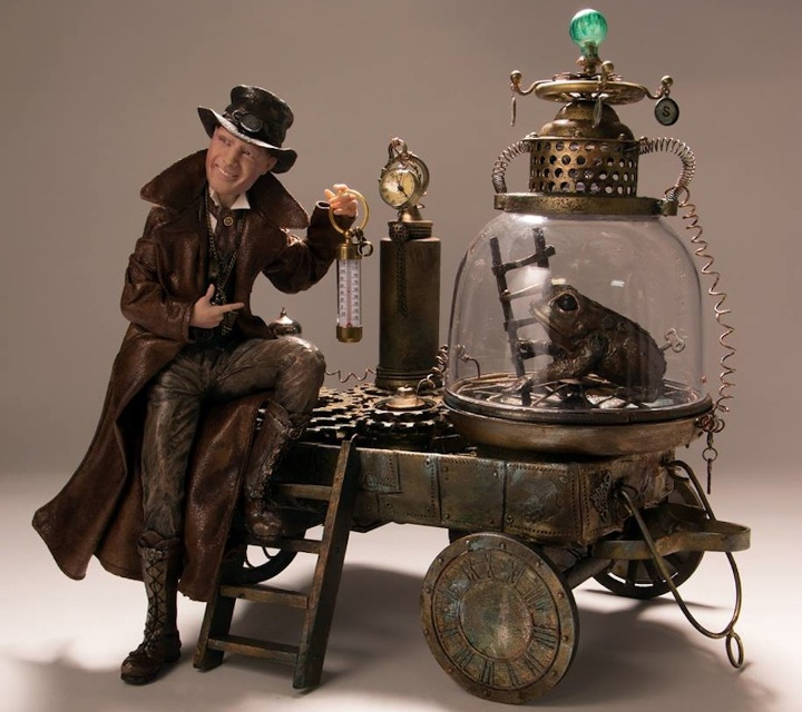 The Weatherman, purveyor of SteamPunk magic and science