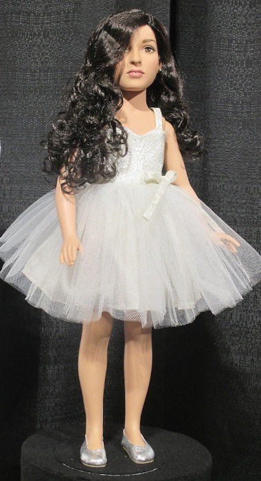 Jazz in White - this doll debuted in February 2017 at Toy Fair