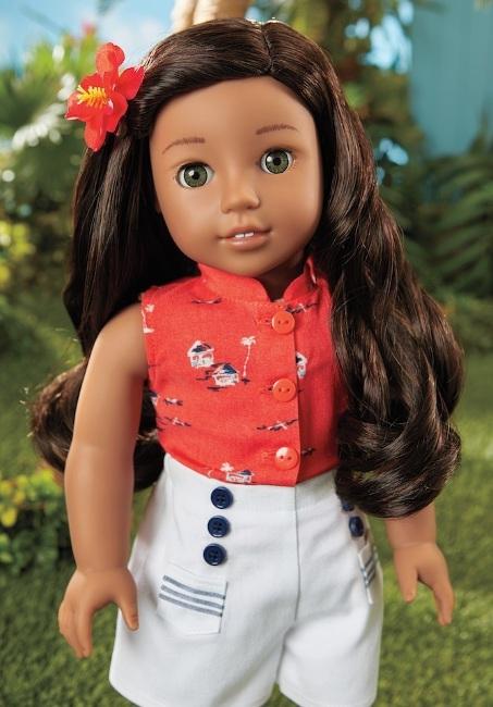 American Girl's BeForever Nanea doll.