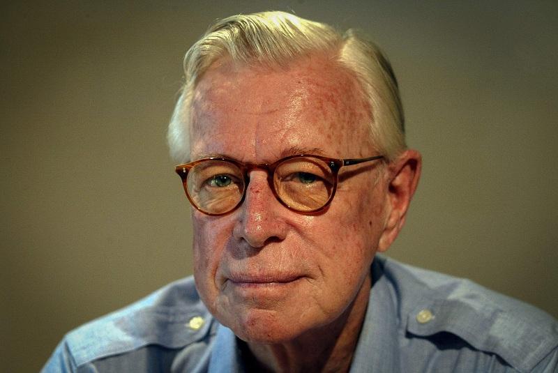Arthur Rankin, age 89, in Bermuda, before his death in 2014.