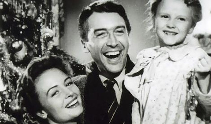 """""""It's a Wonderful Life"""" in all its black-and-white glory."""