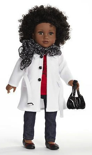 Will this Journey Girl be re-created as Princess Meghan? Trench coat is right!