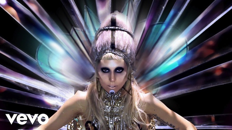 "Lady Gaga's official ""Born This Way"" music video."