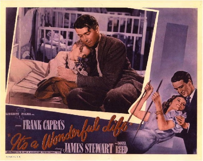 """A vintage lobby card showcases """"the petal story"""" moment."""