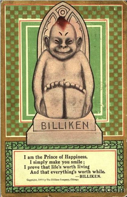 A Billiken poster