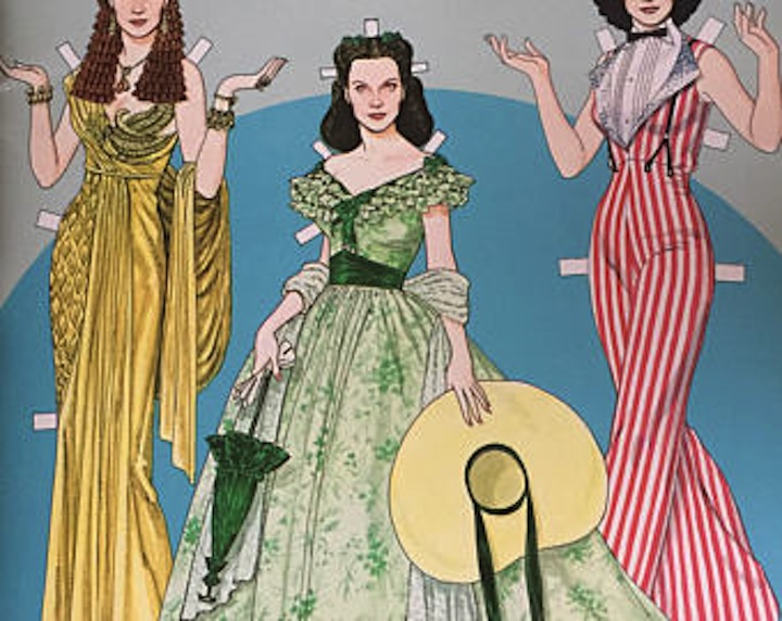 Tom Tierney's paper-doll dresses for Scarlett