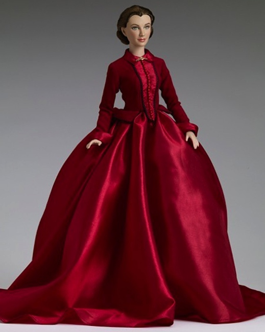A Tonner Doll Company version of Vivien as Scarlett