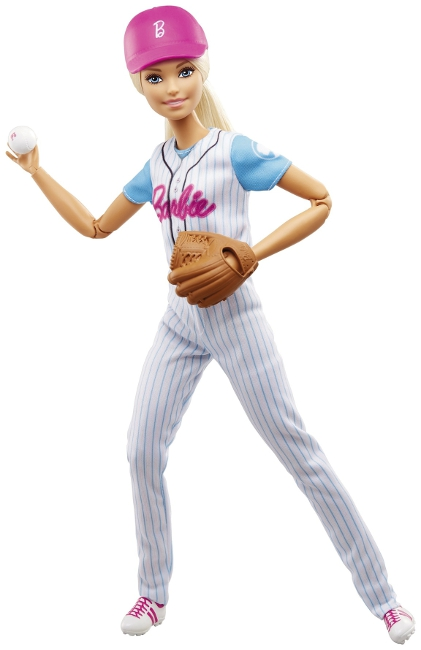 Ballplayer Barbie