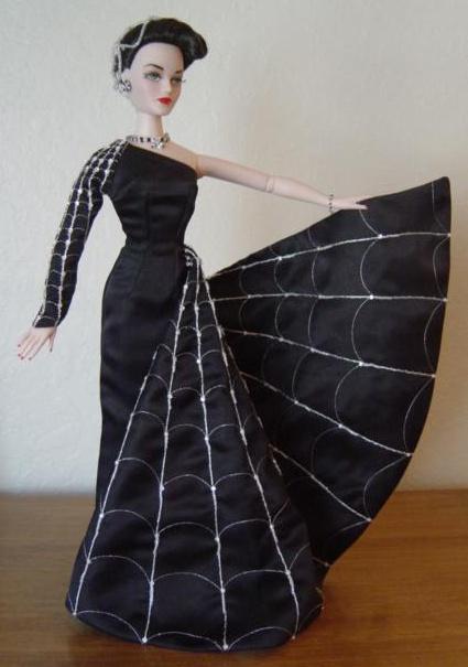 Madra Lord doll as the Black Widow