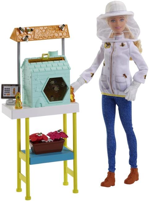 Caucasian Barbie Beekeeper