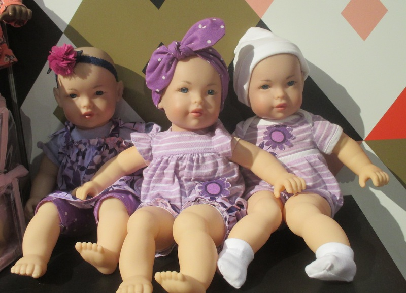 FAO line of adorable baby dolls