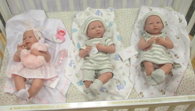JC Toys' New Babies