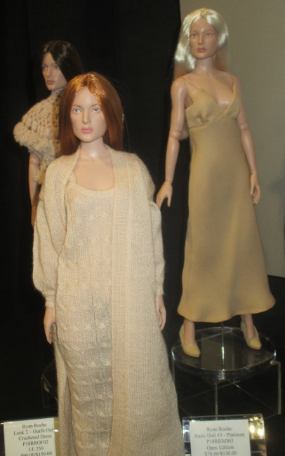 This doll captures the aura of Julianne Moore, a Roche admirer.